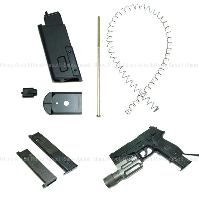 Ready Fighter Extended Magazine Conversion Kit for TM P226 Mag