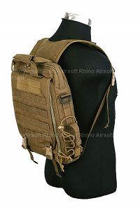 View Pantac Vertical Accessories Backpack (Coyote Brown details