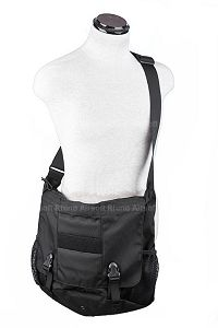 View Pantac Low Profile Courier Bag (Large / Black / Co details