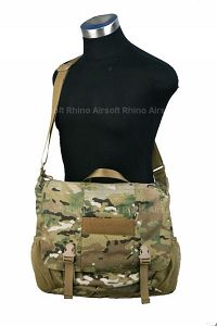 View Pantac Low Profile Courier Bag (Large / Crye Preci details
