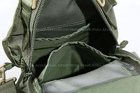 View Pantac Weevil Shoulder Bag (Ranger Green / Cordura details