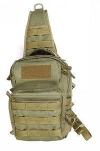 View Pantac Weevil Shoulder Bag (Khaki / Cordura) details