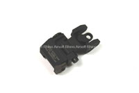 Bomber Troy Style Rear Sight (BK) - Version A