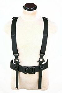 View Pantac HS Low Drag Suspenders (Black) details