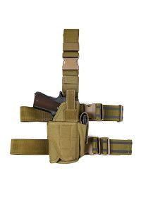 View Pantac Fully Adjustable Holster (Khaki /  Cordura) details