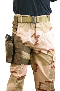 View Pantac MOLLE Style Leg Panel with Holster (CB / CORDURA) details