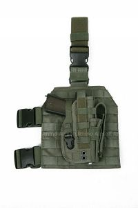 View Pantac Molle Style Leg Panel with Holster (RG / CORDURA) details