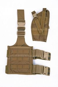 View Pantac SpecOps Seals Drop Leg Holster (Coyote Brown, Cordura, Ambidextrous) details