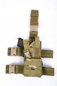 View Pantac Molle Thunder Universal Dropleg Holster (Crye Precision Multicam / Cordura / Ambidextrous) details