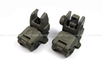 View Magpul PTS MBUS - Front and Rear Sight Set (FG) details