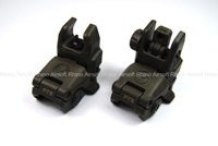 Magpul PTS MBUS - Front and Rear Sight Set (OD)