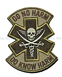 Mil-Spec Monkey - Do No Harm (Pirate) in Desert