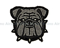 View Mil-Spec Monkey - Bulldog Head Small in ACU details