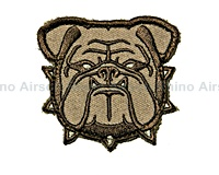 View Mil-Spec Monkey - Bulldog Head Small in Desert details