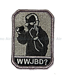 View Mil-Spec Monkey - WWJBD in ACU-Dark details