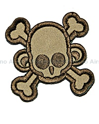 View Mil-Spec Monkey - SkullMonkey Cross Patch in Deser details
