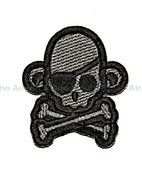View Mil-Spec Monkey - SkullMonkey Pirate Patch in ACU- details