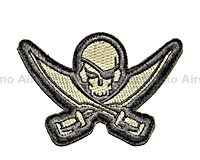View Mil-Spec Monkey - Pirate Skull Diecut in ACU-Light details