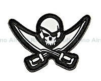 View Mil-Spec Monkey - Pirate Skull Diecut in SWAT details