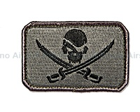 View Mil-Spec Monkey - Pirate Skull Flag in ACU-Dark details