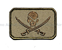 View Mil-Spec Monkey - Pirate Skull Flag in Desert details