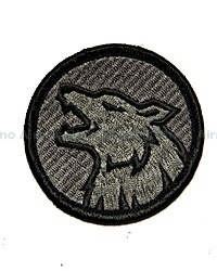 View Mil-Spec Monkey - Wolf Head in ACU-Dark details