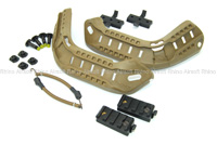 View Ops-Core 2010 ACH-ARC Kit (Accessory Rail Connector) with Bungees details