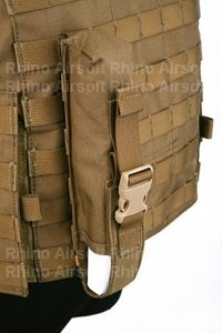 View Pantac Single Pop Flare Pouch (CB/ CORDURA) details