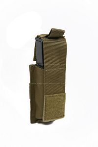 View Pantac Molle 9mm Magazine Single Pouch (CB / CORDURA) details