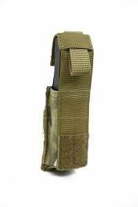 View Pantac Molle .45 Pistol Magazine Pouch with Hard Insert (Crye Precision Multicam / Cordura) details