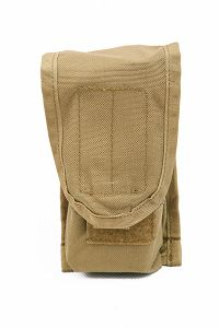 View Pantac SDS MOLLE Single M16 Double Mag Pouch (Khaki, Cordura) details
