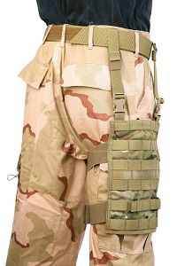 View PANTAC MOLLE Upright Drop Leg Panel (Crye Precision Multicam / Cordura) details