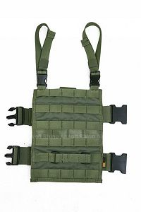 View PANTAC MOLLE Upright Drop Leg Panel (OD / CORDURA) details