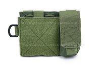 View Pantac MOLLE Small Administrative Pouch (OD / Cordura) details
