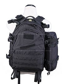 View Pantac MOLLE AIII Backpack (Black / CORDURA) details