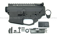 View Prime CNC Upper & Lower Receiver for WA M4 Series - Magpul PTS Licensed Lower with Noveske MUR-1 details