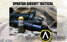 View Spartan Airsoft CQBR M203 Mount with Dummy M433 Grenade (Limited Edition) details