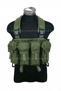 View Pantac LBT AK Tactical Chest Vest (OD / CORDURA) details