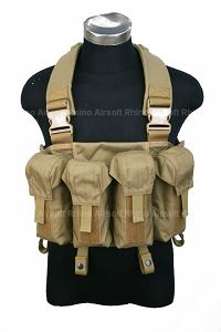 View Pantac LBT AK Tactical Chest Vest (Khaki / CORDURA) details