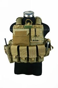 View PANTAC Force Recon Vest Mar(Khaki / Medium / CORDURA) details