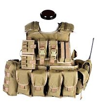 View Pantac RAV Vest Full Set (Khaki/Medium/Cordura) FREE SHIPPING details