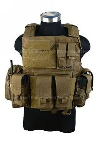 View PANTAC Force Recon Vest Land (CB / M / CORDURA) details