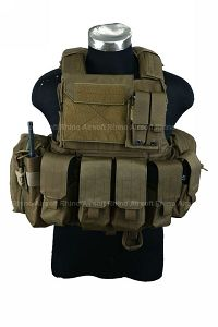 View PANTAC Force Recon Vest Land (CB / S / CORDURA) details