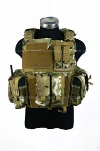 View PANTAC Force Recon Vest Land (Crye Precision Multicam / M / CORDURA) details
