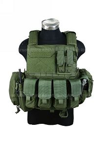 View PANTAC Force Recon Vest Land (OD / M / CORDURA) details