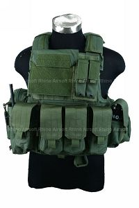 View PANTAC Force Recon Vest Land (OD / S / CORDURA) details