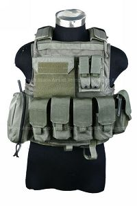 View Pantac Land Force Recon with MOLLE Pouches (Medium / RG / Cordura) details