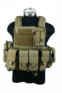 View PANTAC Force Recon Vest Land (Khaki / Small/ CORDURA) details