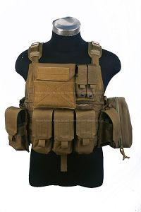 View Pantac MOLLE Style PC Plate Carrier (CB / Medium / CORDURA) details