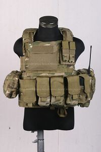 View Pantac MOLLE Style PC Plate Carrier (Crye Precision Multicam / Medium / CORDURA) details